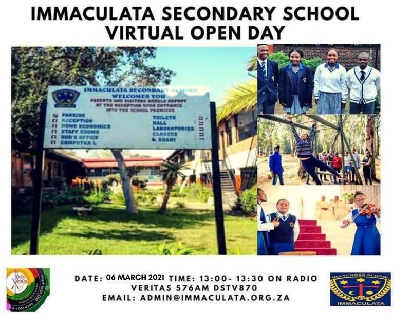 OPen Day Immaculata and Marist Brothers